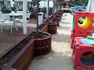 Lavori di pavimentazioni in legno rivestimenti e pavimenti in legno per esterni di stemar - Bagno adriatico cesenatico ...