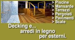 Rivestimenti e pavimenti in legno pavimenti per esterni for Opzioni di rivestimenti esterni in legno