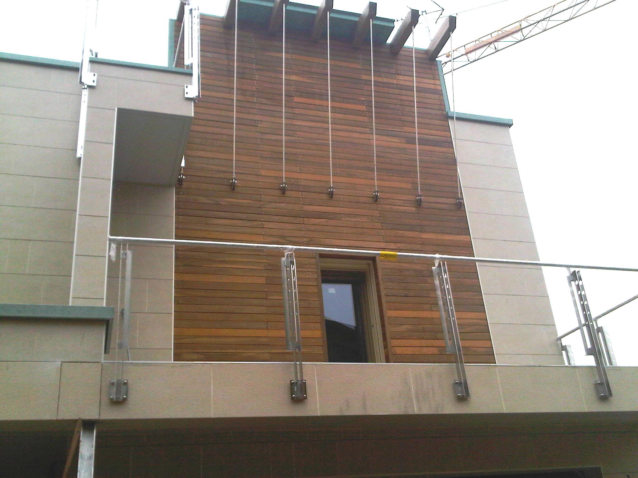 rivestimento in legno per esterni idee di design nella