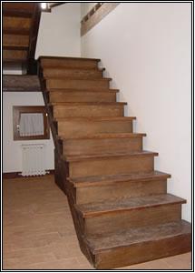 Scale in legno scale per l 39 esterno scale per esterni e - Scale rivestite in legno per interni ...